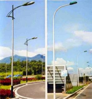 Cột đèn cao áp chiếu sáng đường phố chất lượng cao