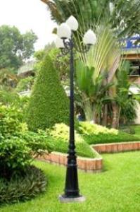 Cột đèn trang trí sân vườn Hikaru